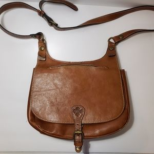 Patricia nash heritage saddle london crossbody